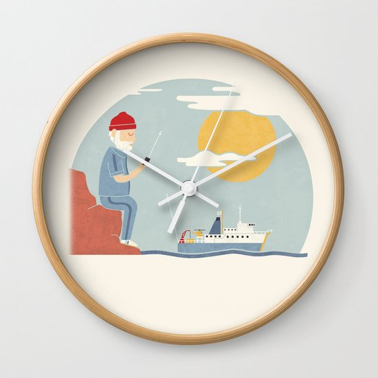 My RC Boat Wall Clock