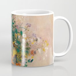 Odilon Redon - Vase of Flowers (1906) Coffee Mug