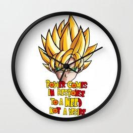Goku - Super Saiyan Power Wall Clock