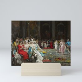 Eugenio Lucas Villaamil Dance at the Palace 1894 Mini Art Print
