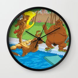Respect Your Neighbour's Privacy Wall Clock
