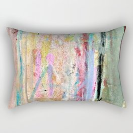 Colorful Bohemian Abstract 1 Rectangular Pillow