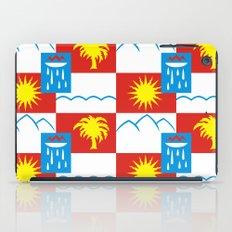 Sochi flag iPad Case