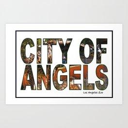 Los Angeles Zoo Art Print