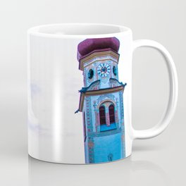 Church in the Alps Coffee Mug