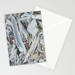He will cover you with His feathers. Stationery Cards