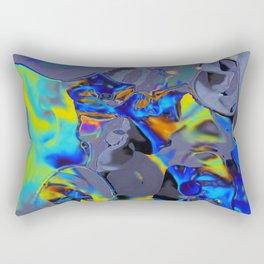 Oil Glitch Rectangular Pillow