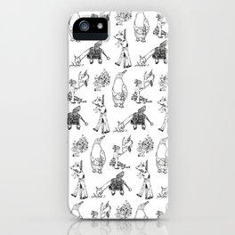 Modern Bestiary iPhone Case