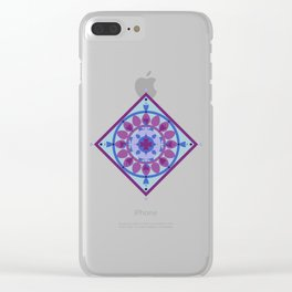Sicilian Mandala Clear iPhone Case