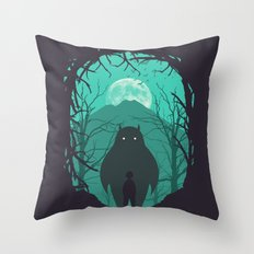 Scary Monsters and Nice Sprites Throw Pillow