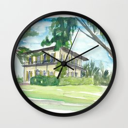 Key West Florida Conch Dreams - Hemingway House Wall Clock