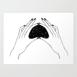 Small Part of the Galaxy Art Print