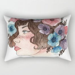 Anemone Crown Rectangular Pillow