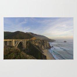 Bixby Bridge at Big Sur Rug