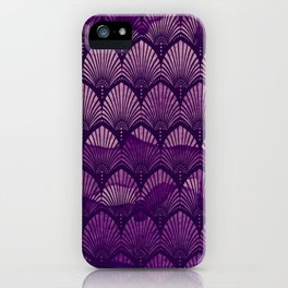 Variations on a Feather II - Purple Haze  iPhone Case