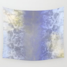 Salted earth abstract- mineral instruction Wall Tapestry