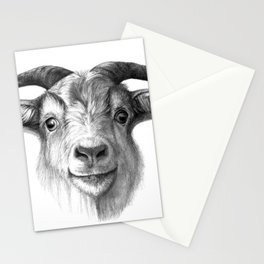Curious Goat G124 Stationery Cards