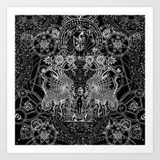 SIN OF IDOLATRY Art Print
