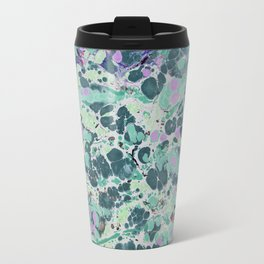 Sunken Forest marbleized print Travel Mug