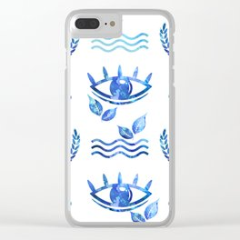 Water Life Clear iPhone Case