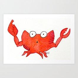 Imitation Krab Art Print