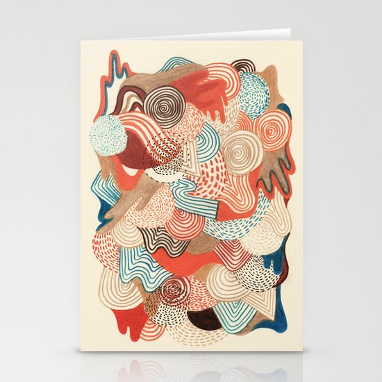 Melting time Stationery Cards