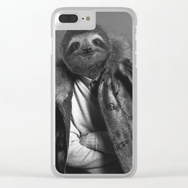 Model Sloth Clear iPhone Case