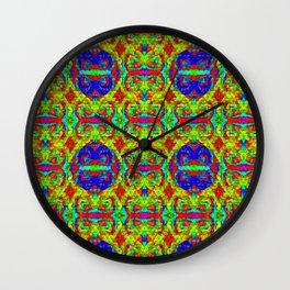 Triangle-mosaic-pattern Wall Clock