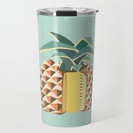 Pineapple illustration Travel Mug