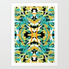 Abstract Symmetry Art Print