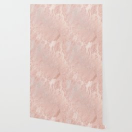 Rose Gold Foil Wallpaper