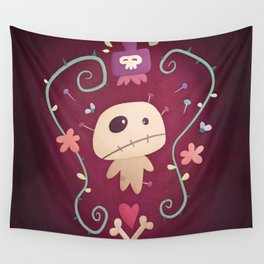Voodoo Doll Wall Tapestry