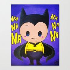Bat Costume Canvas Print