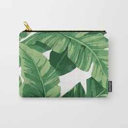 Tropical banana leaves IV Carry-All Pouch