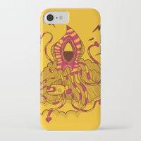 kraken iPhone & iPod Cases featuring Kraken! by Popnyville