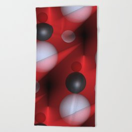 time for abstraction -3- Beach Towel