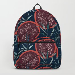 Pomegranate winter print Backpack