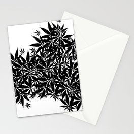 grass illusion Stationery Cards
