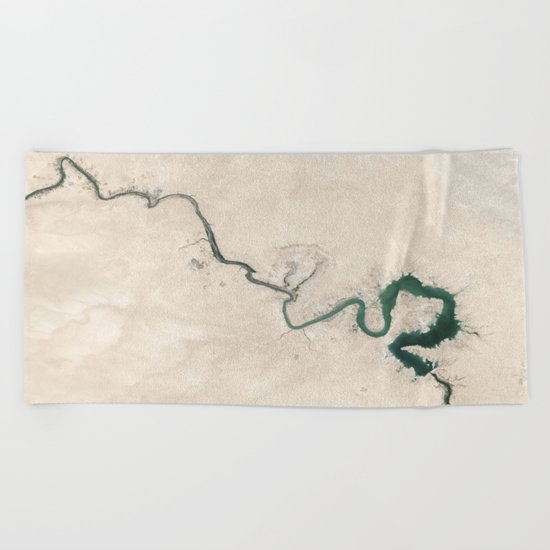 Trace nature Beach Towel