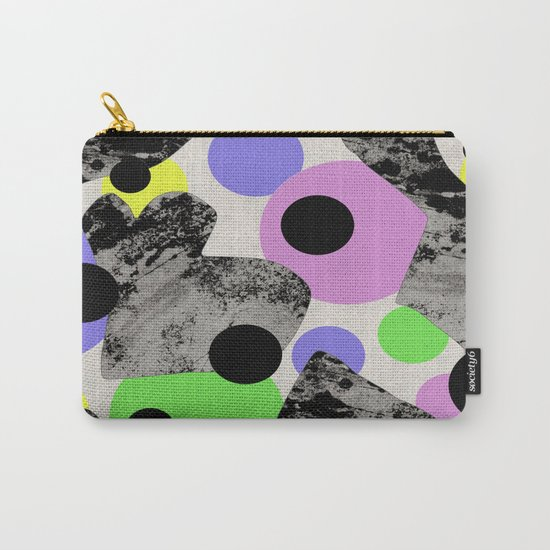 Pastels and Textures Carry-All Pouch