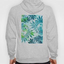 Tropical adventure - Blue Hoody