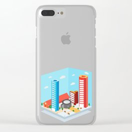 Instagram City Clear iPhone Case