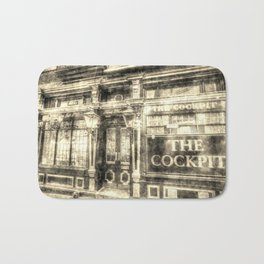 The Cockpit Pub London Vintage Bath Mat