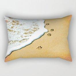 Paw Prints Rectangular Pillow