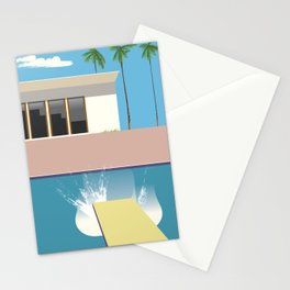Swimming Pool, Stationery Cards