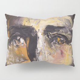 Christ with yellow eyes Pillow Sham