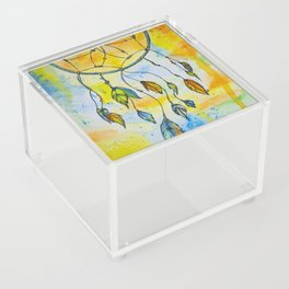 Whimsical Dreamcatcher Acrylic Box