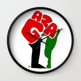 GAZA Wall Clock