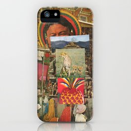The Pineapple Man iPhone Case