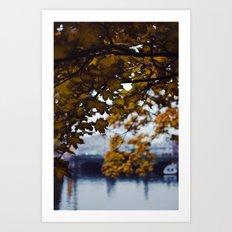 Autumn Nostalgia in Berlin Art Print